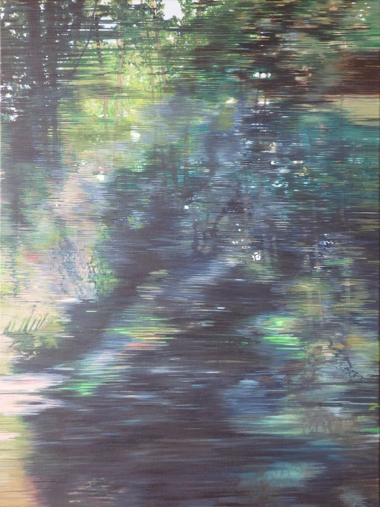 Brou blur 2015 oil on canvas 461 x 612 x 39mm